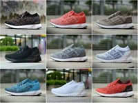 79fac18aa6a UltraBoostS UB Uncaged Socks Shoes Coral Real Boos S80782 Colorful Black  Triple Black White Red Parley Men Women Sport Sneakers 36-45