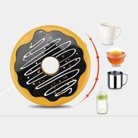 테이블 러너 USB 도넛 전기 절연 열 보호 컵 패드 오피스 워머 데스크탑 미끄럼 방지 그릇 매트 장식