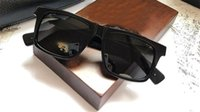 جديد الرجال الرجعية شعبية النظارات الشمسية تصميم أسلوب فاسق الرجعية إطار مربع مع مربع من الجلد طلاء عاكسة المضادة للأشعة فوق البنفسجية عدسة أعلى جودة