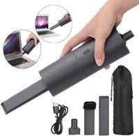 Мини-пылесос, небольшой портативный беспроводной USB перезаряжаемый, пыль Buster и вентилятор 2 в 1, легко чистый рабочий стол, клавиатура, ящик, салон автомобиля