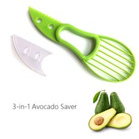 3 in 1 Avocado affettatrice di karitè Corer Marmellate Peeler taglierina Pulp separatore coltello da cucina in plastica della verdura