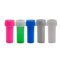8 Dram empurrão para baixo volta recipiente de frasco de frasco plástico de plástico stoh stash frasco caixa caixa caixa de erva impermeável recipiente de fumar tubos de água
