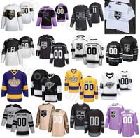 Costumbre 2020 LA Los Ángeles Rey de hockey sobre hielo 3 Matt Roy jerseys Hombres 74 Nikolai Prokhorkin 22 Trevor Lewis Ben 15 Hutton