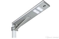 30W 통합 주도 태양 광 가로등 빛 / PIR 모션 센서 LED 도로 조명 빛 방수 야외 램프 모노 태양 전지 패널