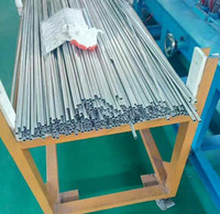 Tubo de escape de titanio de alta calidad tubo de pared delgada stent esofágico grado médico precios de titanio tubo de nitinol