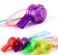 LED Flaş Düdük Işık Gürültü Maker Çocuk Çocuk Oyuncakları Doğum Günü Partisi Festivali Yenilik Sahne Noel Gürültü Maker Oyuncak