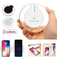 Qi Wireless Fast Charger Dock cargador Pad Pad para iPhone 8 XS Samsung LG