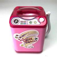 Mini simulación eléctrica lavadora Juguete Maquillaje puff eléctrico Para limpiar mini Cepillos de limpieza Herramienta cosmética Envío gratis