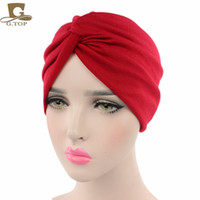 New cotton cross Indian hat, headscarf cap, twisted hat, Eur...