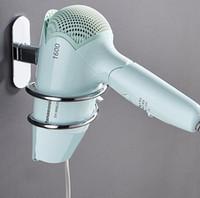 Нержавеющая сталь воздуходувка стойки из алюминиевого сплава Фен кронштейн держателя ванной товара Полка держатель настенный GGA2716