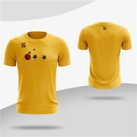 и женские футболки, эксклюзивный логотип, оранжевые, красный, черный, синий, фиолетовый и несколько цветов, футболки тренировка одежда пользовательские мужчин