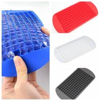 Silikon-Eiswürfel-Tablett Mini-Würfel-Silikon-Maker-Form-FREEZE-Mold Eiswürfel-Form-Eis-Herstellungskasten-Form-Eiscreme-Werkzeuge DH0633