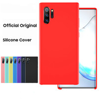 Official Silicone Case For Samsung Galaxy S20 Ultra S10 S10E...