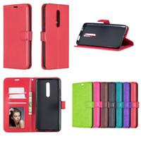 Portefeuille en cuir PU Flip Phone Couverture de cas pour Xiaomi 9 9SE 6X pour Redmi Note 7 6 Pro K20 Pro