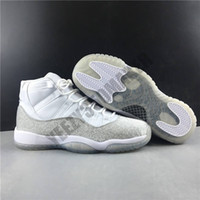 Nouveau Jumpman 11 11S WMNS argent métallique Chaussures Hommes Basketball Blanc entraîneur des hommes de sport Athletic Chaussures Taille 36-43 en gros