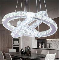 Lampada a sospensione moderna luminosità dei cristalli Led Interni Casa arredamento Lampadari illuminazione a sospensione Lights Fixtures per soggiorno plafoniere