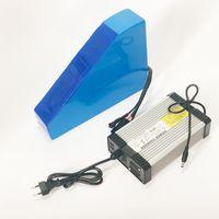 لا ضريبة 72V 21Ah ليثيوم أيون بطارية eBike 3000W سكوتر الكهربائية مع 50A BMS 84v 5A شاحن حقيبة المثلث الحرة