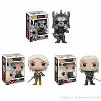 Carácter de China FUNKO Pop juego The Witcher 3 Figuras de Acción Vinilo CIRI Geralt Eredin