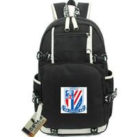 غرينلاند ظهره شنغهاي شينهوا مشجعي النادي حزمة اليوم لكرة القدم حقيبة مدرسية لكرة القدم packsack حقيبة الكمبيوتر الرياضة المدرسية daypack في الهواء الطلق