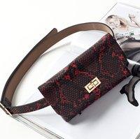 newest designer luxury waist bag women joker belt classic Serpentine shoulder bags Retro portable phone bags adies bags