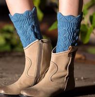 Мода Короткие Женщины крючком ботинка Манжеты девушки зимние вязать гетры Сапоги носки 8 цветов новый ARRIVEL