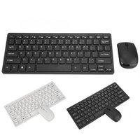 Mini tastiera wireless 2.4G Mini tastiera wireless e combo ottico impostato per laptop desktop tastiere Smart TV tastiera