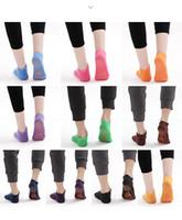 Kid Adult Anti Friction Bounce Yoga Socken Amusement Platz nicht Beleg Trampolin Socken Anti-Rutsch-Kleber Sportsocken Freies Verschiffen 2 5mm