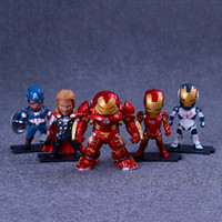 Avengers: Endgame Justice Actionfiguren League Marvel Avengers Super Hero Charaktere Modell Vinyl Action Toy Figures