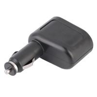 ユニバーサル1x2車USB充電器の供給ダブルソケットカースタイリングアクセサリータバコライターエクステンダースプリッタスプリッタ充電器