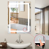 LED 5050 Wall Bathroom Lighted Wall Mount Makeup With Mirror...