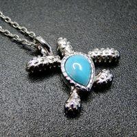 حار بيع سيلفي اريمار مجوهرات فضية 925 البحر الطبيعية اريمار السلاحف المرأة قلادة قلادة للهدايا