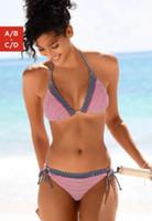 Arriba Imprimir populares sólida división de baño bikini retro grandes bronceado de piel de serpiente de talle alto Bikinis Bikini Sets Triángulo atractivo elegante flexibles