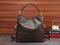 2565d3d51e85 New Arrival. 1Louis vuitton New Genuine Leather Delightful M40354 shoulder  bag Women handbag GM ...