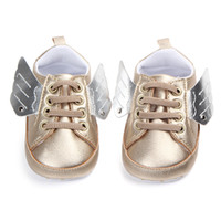 Newborn Baby First Walkers Shoes Minal Pony Wing Wing Boots Boots Boy Girl Angel Wings Wings Booties Shoes
