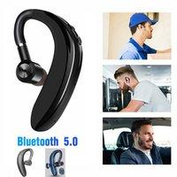 소매 패키지와 아이폰 5.0 블루투스 이어폰 (S109)의 이어 후크 무선 헤드셋 Nosice 취소 HD MIC 핸즈프리 비즈니스 드라이버
