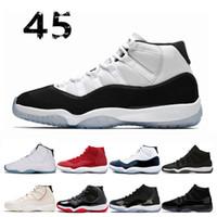 11 رجل أحذية كرة السلة كونكورد مع عدد 45 ولدت جيمريد الأشعة تحت الحمراء منخفضة البلاتين تينت الفضاء جام حفلة موسيقية ليلة الرجال رياضة حذاء 36-47