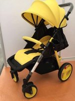 Multifunctional baby stroller light portable can sit and lie...