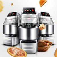 Pétrin commercial pour magasin de pain à pizza cuit à la vapeur bun pâte machine à remuer les aliments double action à double vitesse
