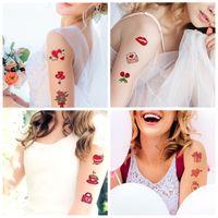 День святого Валентина компаньон день татуировки наклейки любовь Купидон предложение руки и сердца временные поддельные одноразовые наклейки