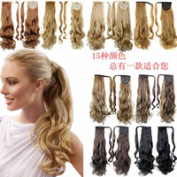 Ponytail Synthetic Hair Clip In Pony Tail Hair Ponytail Wig ...