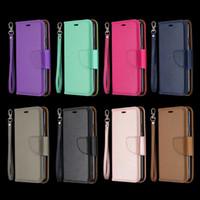 Para Iphone 12 11 XS MAX XR X 8 7 6 Galaxy Note 20 S20 Ultra A71 A51 S10 carteira de couro caso Litchi Leechee cartão ID Virar Titular slot da tampa