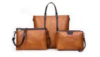3 조각 여성 패션 디자이너 가방 지갑 크로스 바디 어깨 가방 토트 가방은 WALLE 클러치 설정
