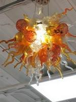Precio al por mayor barato cocina de la lámpara LED de luces de techo Blown ahorro Fuente de luz del Victorian del estilo de Dale Chihuly Mano