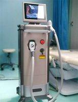 Simples e triplo Wavelengths indolor cabelo remoção permanente portátil 808nm Diode Laser 600W Whole Body Cabelo Depilação Máquina