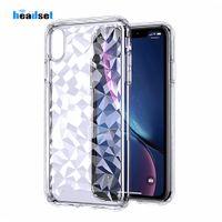 Custodia rigida in TPU trasparente per iPhone 7 Plus X Custodia XS 8 Plus per Samsung Galaxy s9 s10 plus