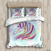 Colorful and colorful Duvet Cover Sets custom Bed Linens Bed...