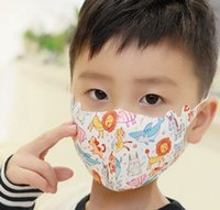 Kid Face Cover Mouth Mask Cartoon Animal printed Dust MaskS ...