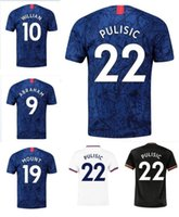 Home Stadium 2019- 20 Shirt Soccer Jerseys 7 Kanté 22 PULISIC...