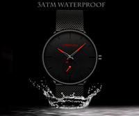 2020 Crrju watch men Top Brand Luxury Quartz watch Casual quartz-watch stainless steel Mesh strap ultra thin clock male Relog