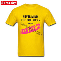 Yellow Uk Sex Pistols Never Mind The Bollocks Shirt For Men ...